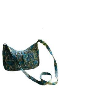 """Vera Bradley"""" Quilted Adjustable Shoulder Bag."""